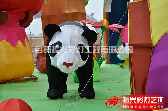 彩灯制作公司——熊猫家园