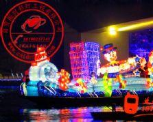2012年广西柳州彩船|彩船制作