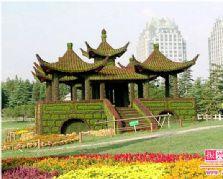 用于制作景观的仿真植物雕塑