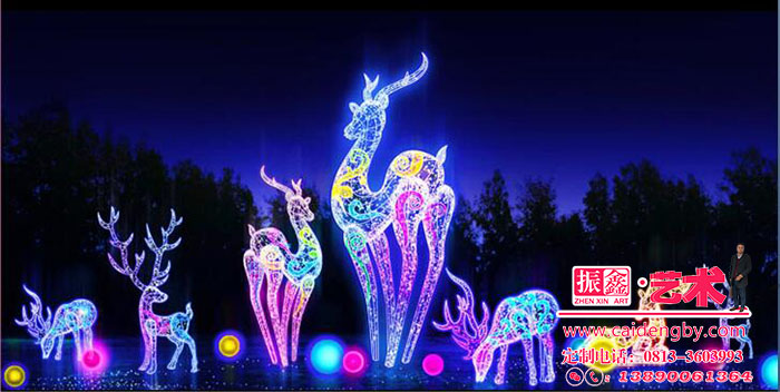 自贡大奖娱乐官网首页设计制作里可用在灯会外围的中型灯组