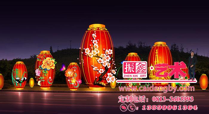 国庆节城市亮化工程