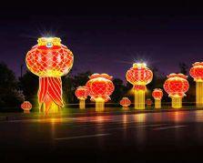 城市亮化里的节庆大奖娱乐官网首页