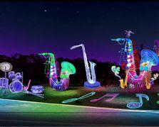 大型灯会灯展制作的光雕大奖娱乐官网首页——萨克斯