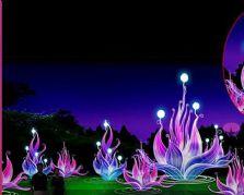 春节花灯设计制作公司的氛围灯组——梦幻之花