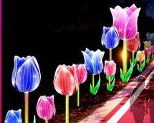 自贡大奖娱乐官网首页设计制作的小型大奖娱乐官网首页——郁金香