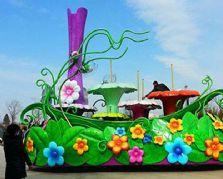 用于大型巡游活动的玻璃钢彩车