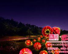 以灯笼为设计元素的国庆节城市亮化装饰大奖娱乐官网首页