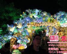 竹编与大奖娱乐官网首页——春节灯会设计制作的亮点之一